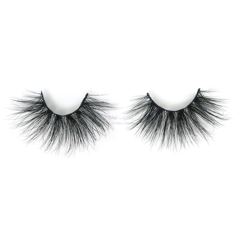 96daea6e491 Extra Long 3D real mink fur eyelash-5D47L