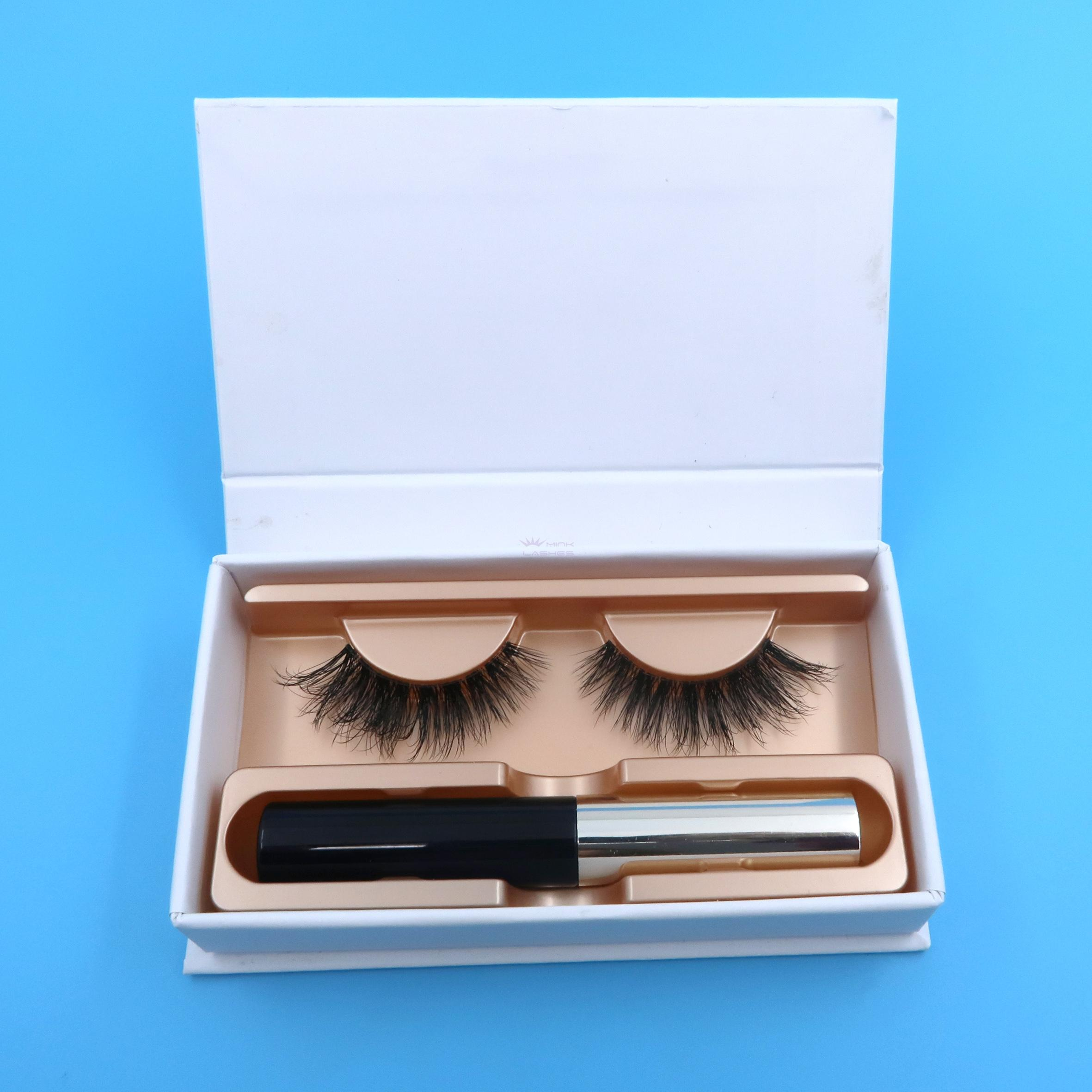 09b9caf2bfc Private Label Magnetic Eyeliner Faux Mink Lashes Magnetic lashes