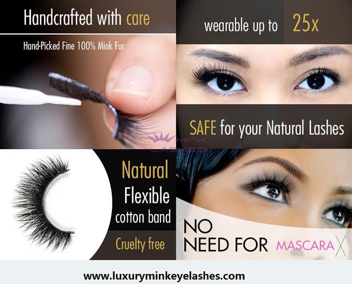 3d Mink Eyelashes Manufacturer 3d Faux Mink Eyelash Supplier 3d